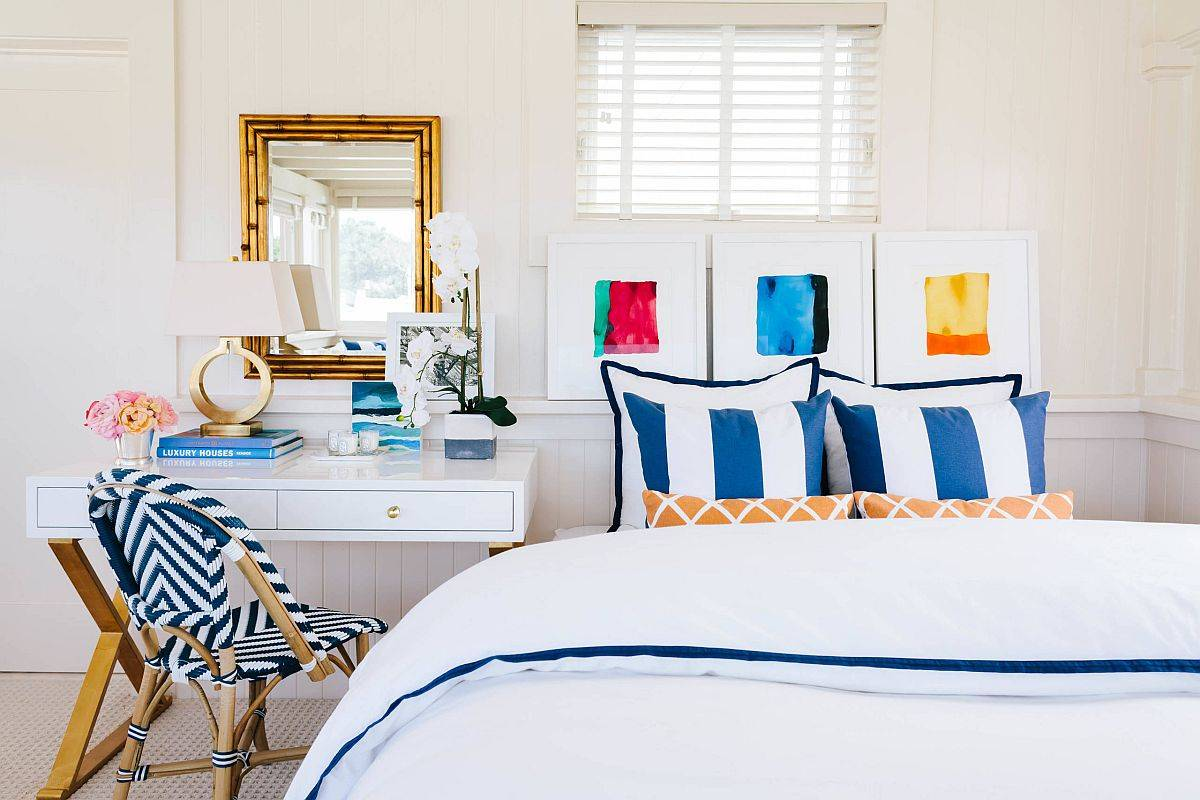 Brilliant-pops-of-blue-steal-the-spotlight-in-this-modern-beach-style-bedroom-38058