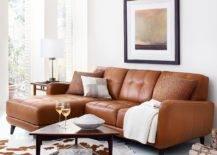Brown Color Palette Living Room