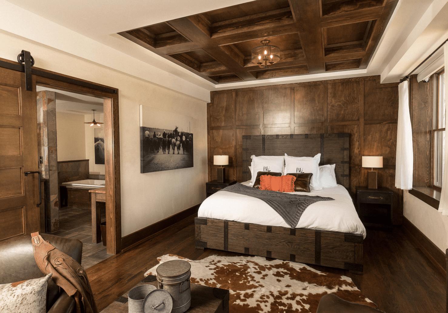Brown Color Palette Living Room.