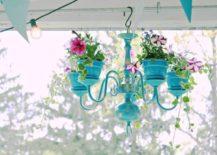 Chandelier planter.