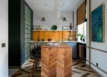 Cusom-wooden-kitchen-counter-with-chevron-pattern-and-floor-tiles-that-uher-in-herringbone-design-93601-217x155