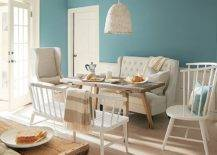 Fabulous-contemporary-dining-room-in-whie-and-Aegean-Teal-from-Benjamin-Moore-24606-217x155