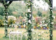 Floral Decor Pergola