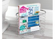 Freestanding Bathroom Magazine Holder