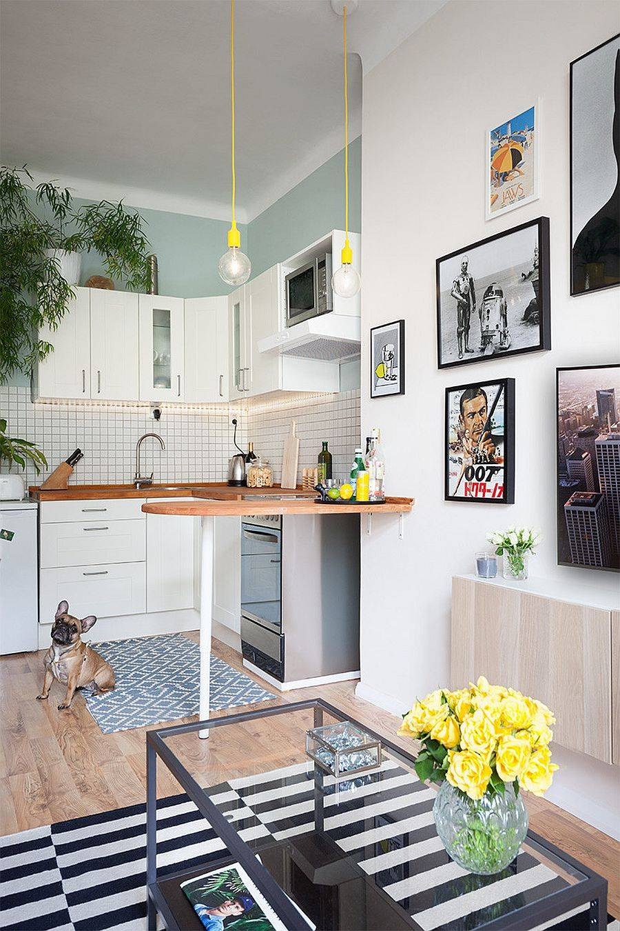 L-shaped-corner-kitchen-for-the-small-home-with-Scandinavian-style-37920