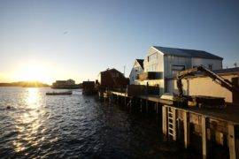 Cod Liver-Oil Production Building Turned into a Captivating Modern Home