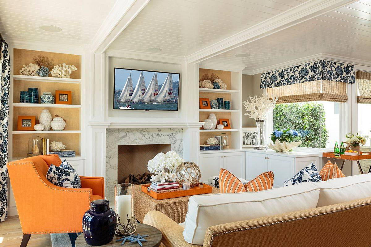 Orange-is-the-perfect-accent-color-to-enliven-the-small-beach-style-living-space-33096