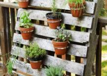Palette and Pot Planter