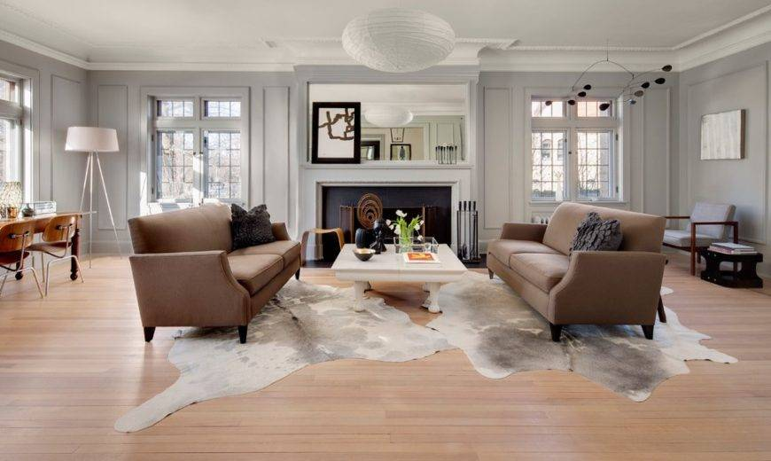 16 Photos Proving Why You Need a Cowhide Rug in Your Living Space