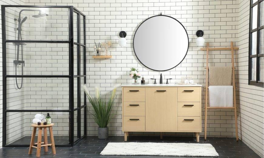 15 Amazing Midcentury Modern Bathroom Ideas