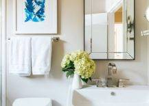 Small-bathroom-decorating-idea-with-sink-and-mirror-in-the-corner-75652-217x155