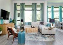 Spacious-wood-and-white-family-room-with-blue-accents-all-around-10298-217x155