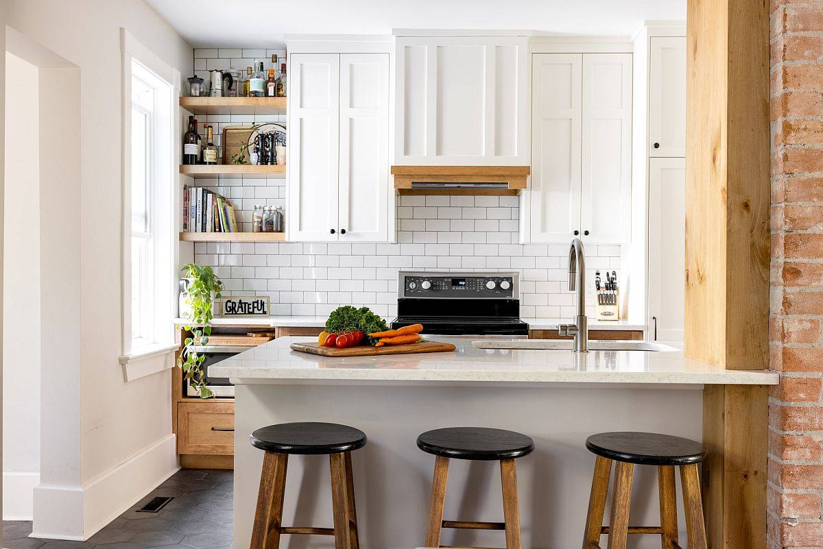 Sparkling-tiles-in-white-create-an-eye-catching-and-neutral-backdrop-in-this-kitchen-82276