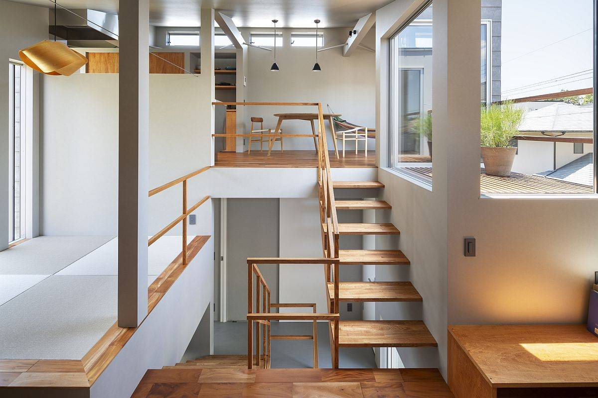 Tiny Home in Japan: Split-Levels, Smart Views and Space-Conscious Design