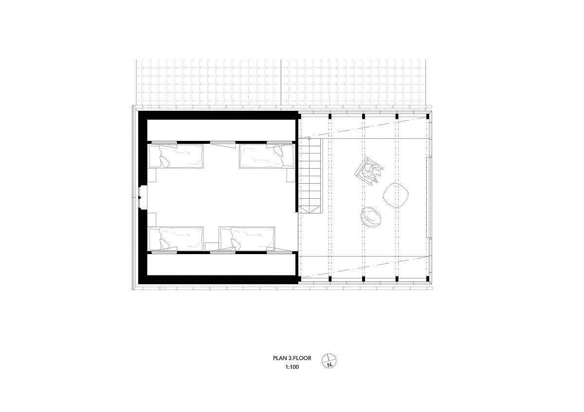 Third-level-floor-plan-of-the-Brygga-Henningsvaer-House-designed-by-SKAARA-Arkitekter-AS-37794