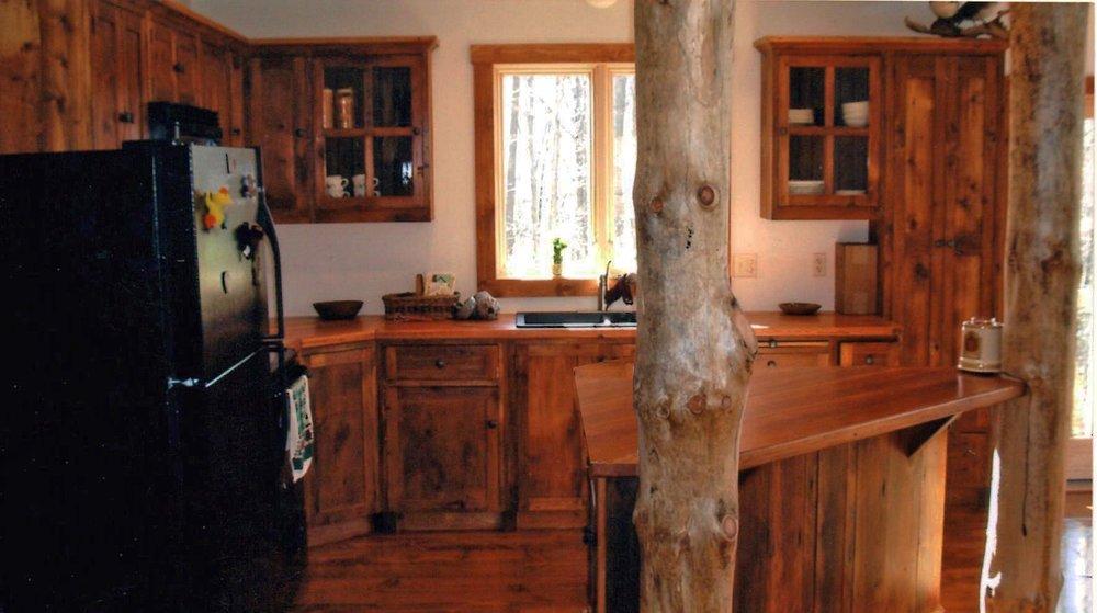 Triangle kitchen counter