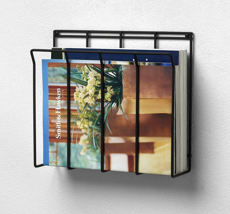 Wire Magazine Wall Holder
