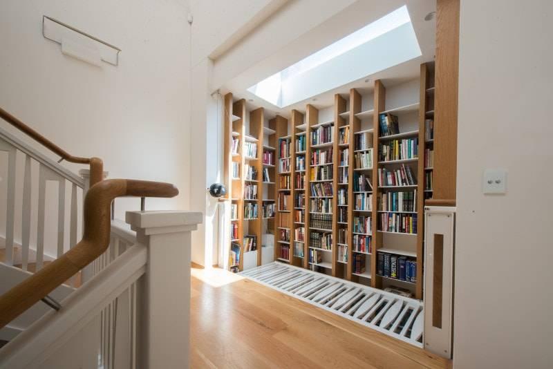 Wooden Bookcase.