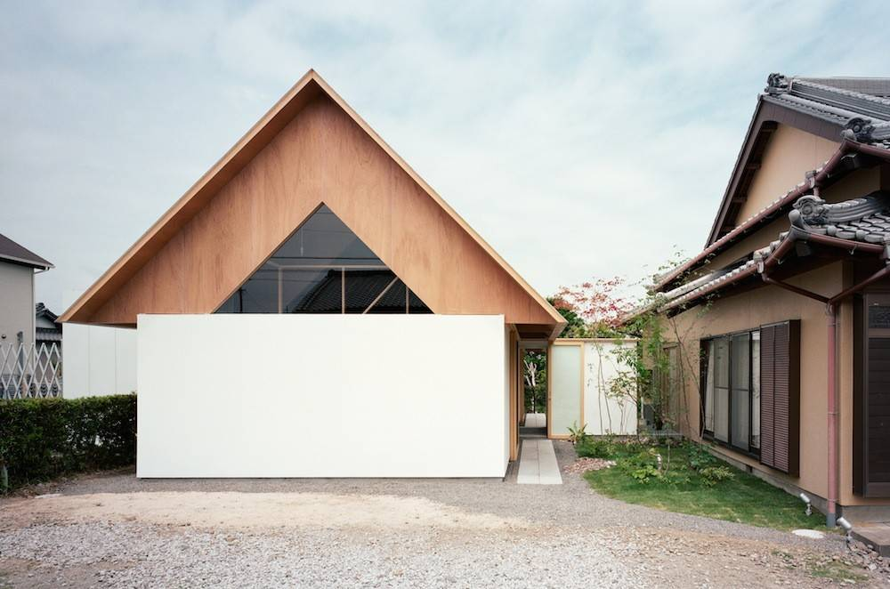Wooden Gable Roof