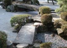 A Courtyard With Rocks