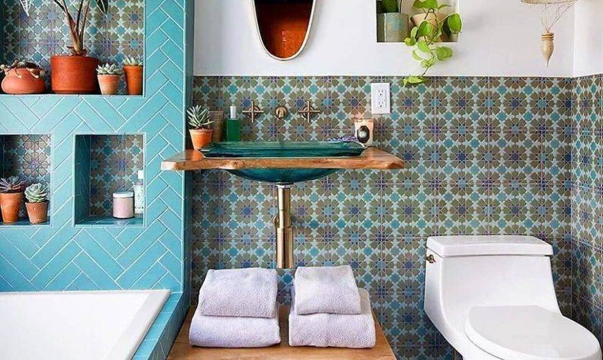 Beautiful Bohemian Bathroom Designs