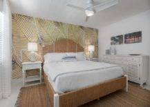Bespoke-wallpaper-with-leafy-pattern-for-the-headboard-wall-brings-coastal-vibe-to-the-small-bedroom-13821-217x155