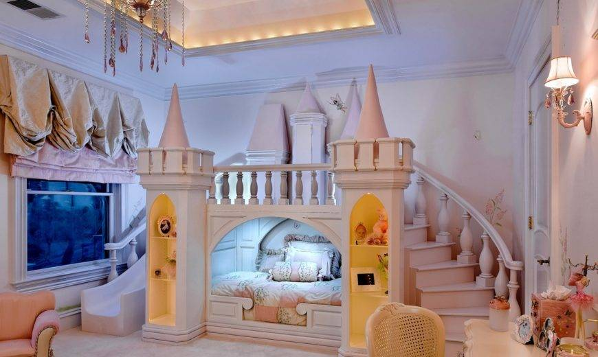 Pretty In Pink And Purple: Princess Bedroom Ideas