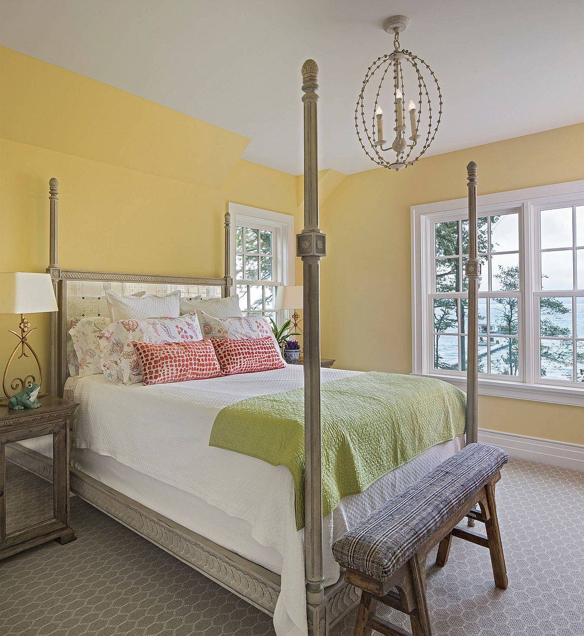 Charming-becah-style-ebdroom-in-yellow-with-beautiful-lighting-99790