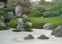 Courtyard With Rocks