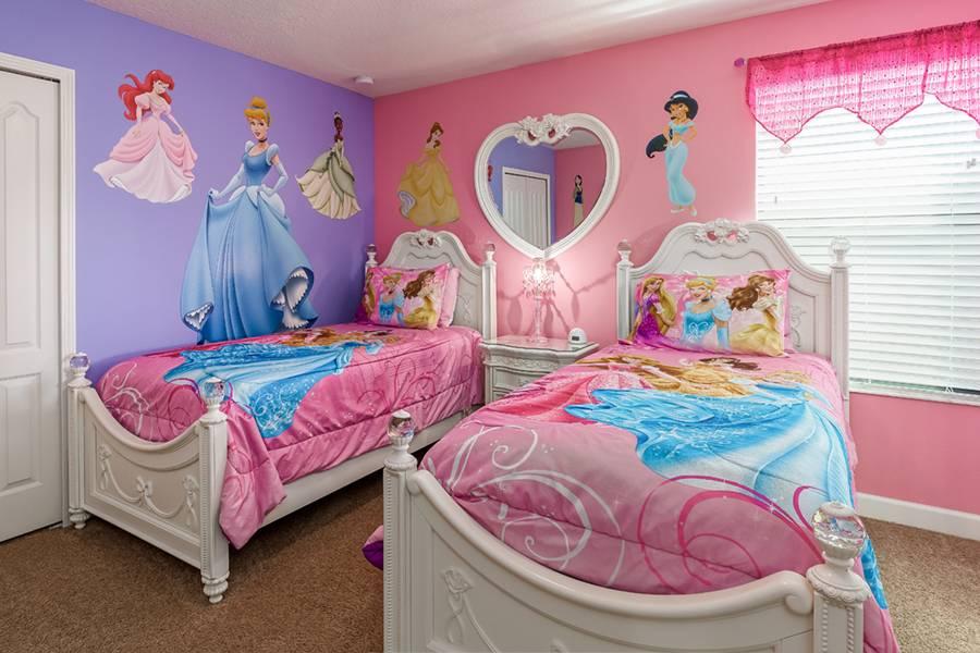 Disney Princesses Inspired Bedroom
