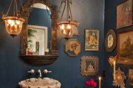 15 Powder Rooms that Showcase Top Styles for the Season and Beyond