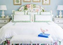 Elegant-traditional-bedroom-in-light-blue-and-white-with-botanicals-on-the-wall-56883-217x155