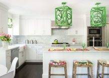 Eye-catching-over-sized-pendant-lights-bring-both-color-and-pattern-to-this-white-New-York-kitchen-65997-217x155
