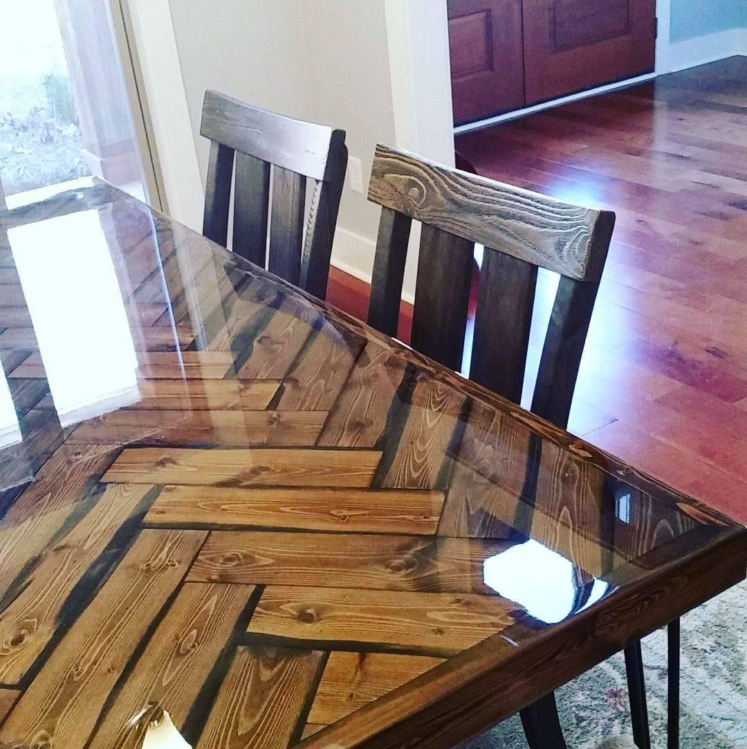 Herringbone Table Top