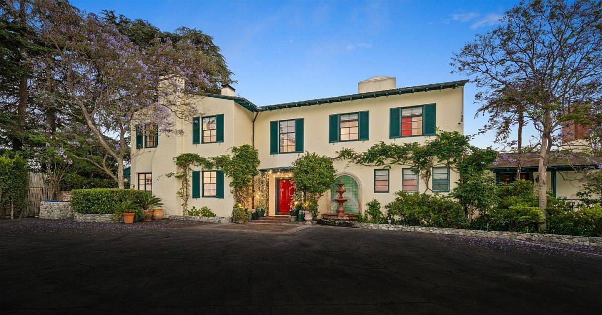 Main House of Helen Mirren and director Taylor Hackford Hollywood Hills Home pegged at $18.5 million