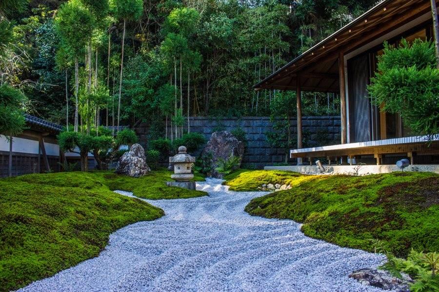 Taman zen minimalis