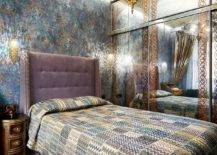 Mirrored-wardrobe-and-dazzling-wallpaper-along-with-lighting-create-a-magical-small-Mediterranean-bedroom-48681-217x155