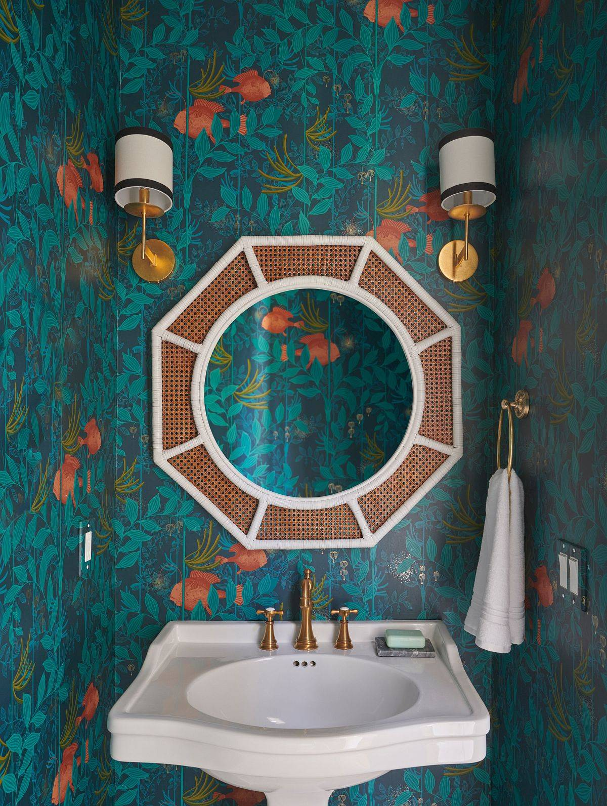 Modern-beach-style-powder-room-with-a-touch-of-sophisticated-glam-93073