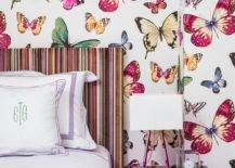 Multi-colored-butterflies-enliven-this-tiny-bedroom-in-white-58393-217x155