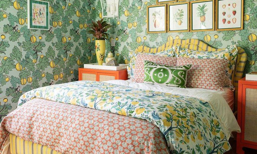 15 Small Bedrooms Filled with Snazzy Pattern: Small Space Craze!