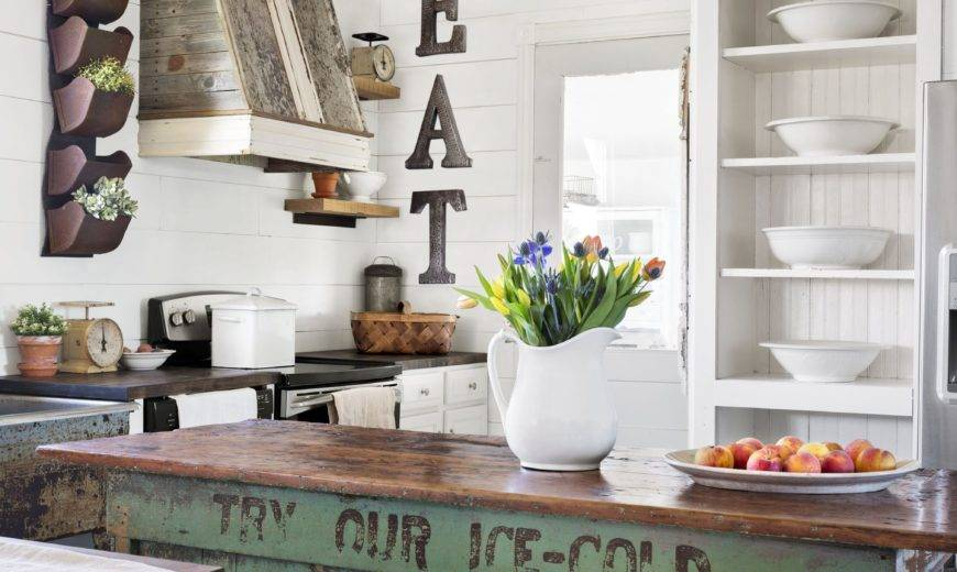 Country Chic Décor Ideas