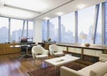 Oval Wooden Desk