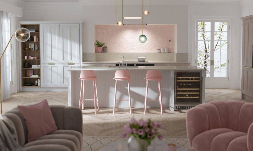 Glam Kitchen Design For Every Taste