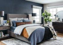Polished-charcoal-gray-accent-wall-for-the-white-and-gray-modern-bedroom-69150-217x155