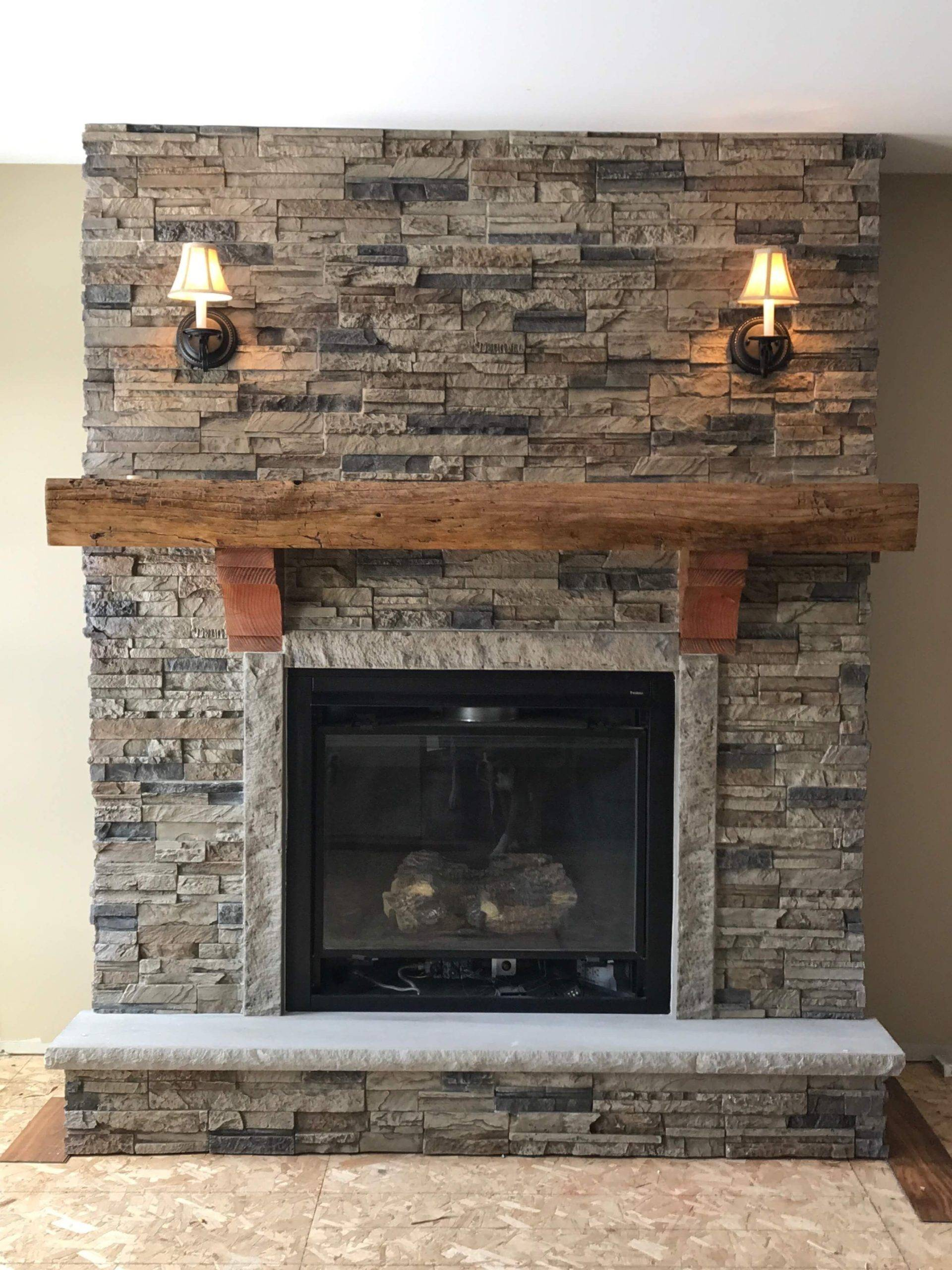 Stone and Log Style