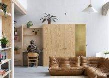 Wooden-decor-Togo-sofa-and-neutral-interior-of-the-modern-home-living-room-35700-217x155