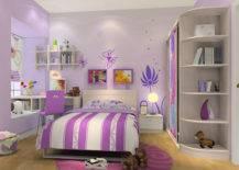 Purple Themed Bedroom