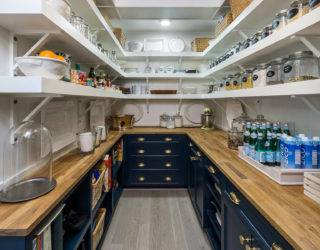 Impressive Walk-in Pantries We'd Want In Our Homes