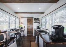 interior modern wooden container home