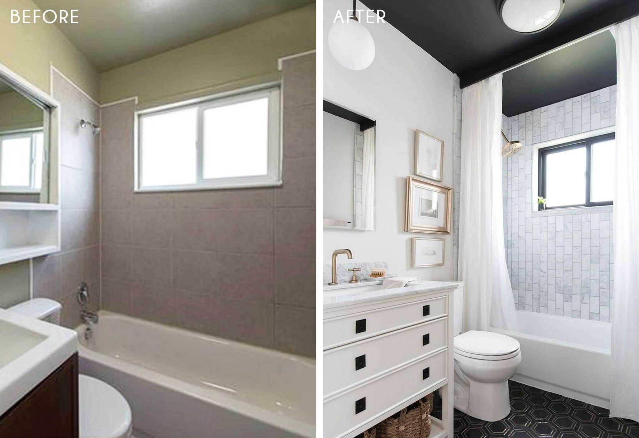 Small and stylish bathroom